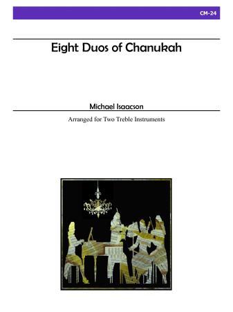 EIGHT DUOS OF CHANUKAH (treble clef)