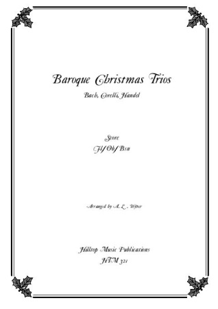 BAROQUE CHRISTMAS TRIOS (score & parts)