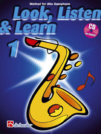 LOOK, LISTEN & LEARN Book 1 + CD (alto)