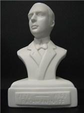 COMPOSER BUST Rachmaninov (Porcelain)