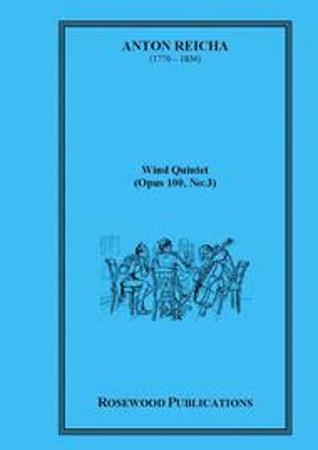 WIND QUINTET Op.100 No.3 (score & parts)