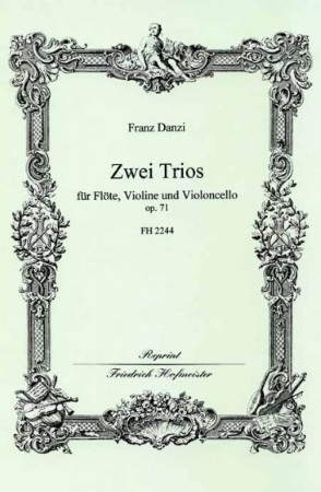 TWO TRIOS Op.71 set of parts