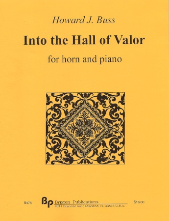 INTO THE HALL OF VALOR