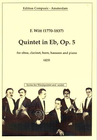 QUINTET in Eb Op.5