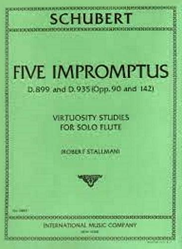 FIVE IMPROMPTUS D899/D935 virtuoso studies