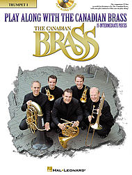 PLAY ALONG WITH CANADIAN BRASS + CD 1st trumpet