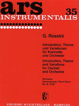 INTRODUCTION, THEME AND VARIATIONS