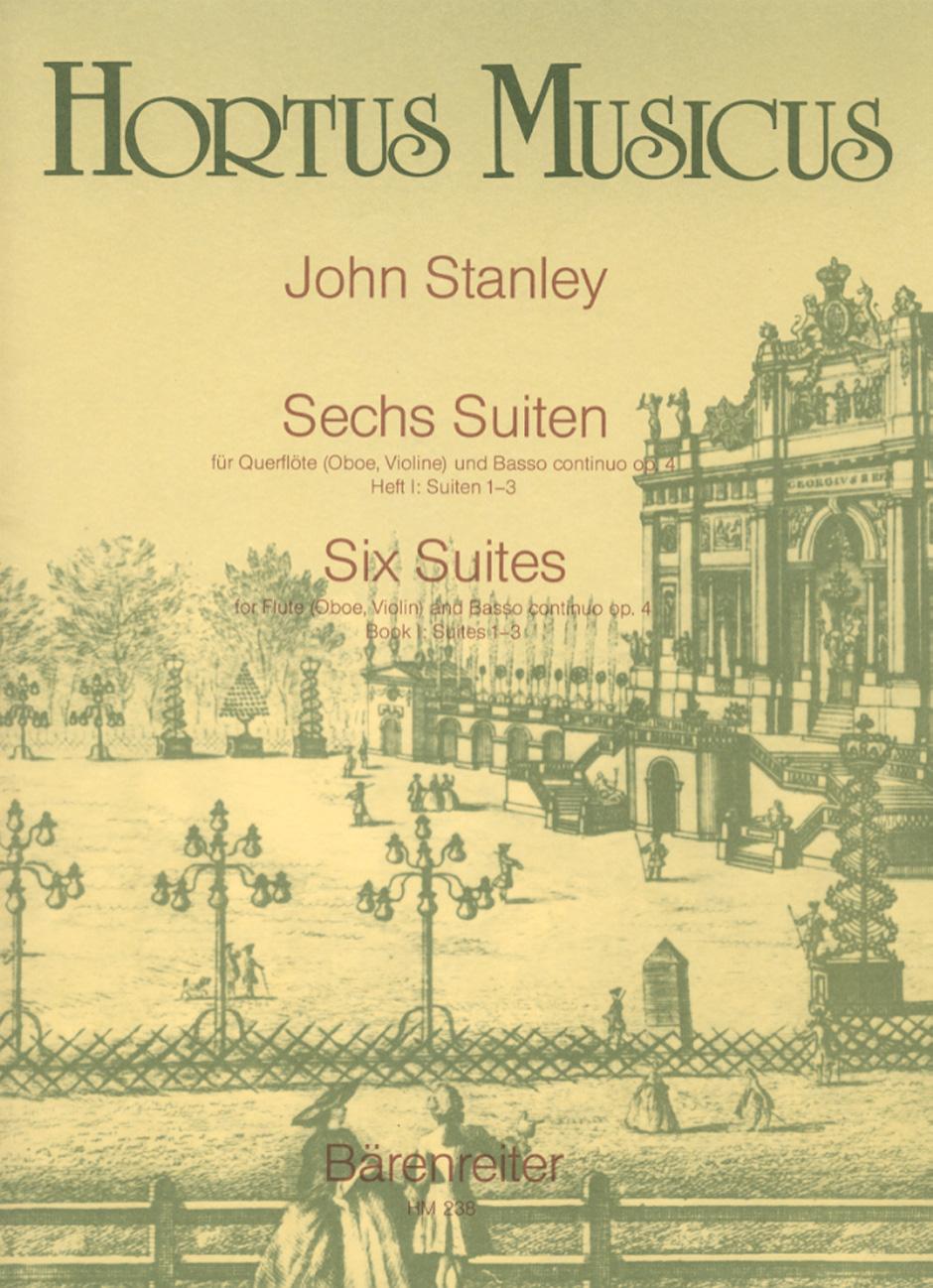SIX SUITES Op.4 Book 1, Nos.1-3