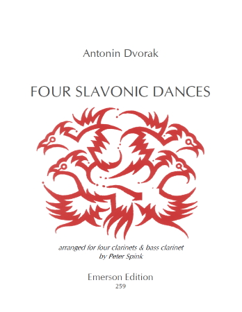 FOUR SLAVONIC DANCES (score & parts)