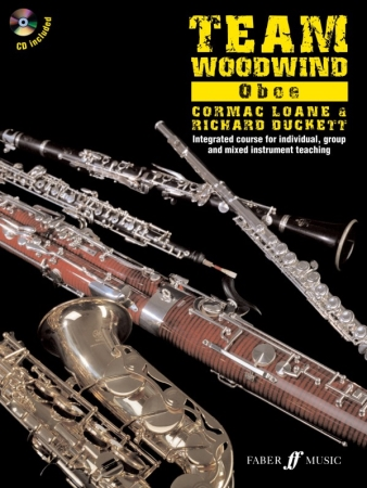 TEAM WOODWIND OBOE + CD