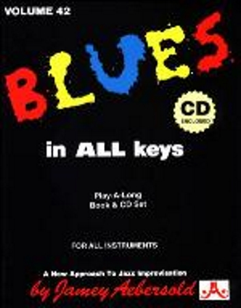 BLUES IN ALL KEYS Volume 42 + CD