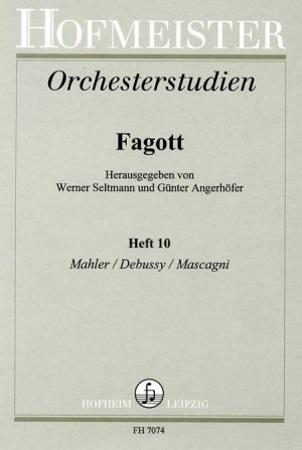 ORCHESTRAL STUDIES 10: Mahler, Debussy, Mascagni