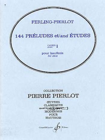 144 PRELUDES ET ETUDES Volume 1