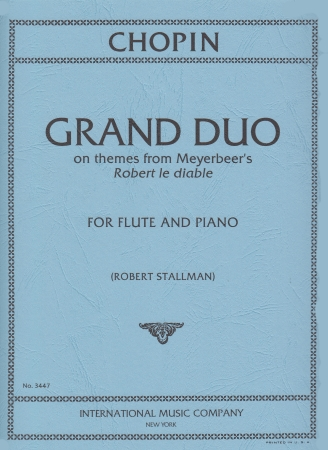 GRAND DUO on themes from Meyerbeer 'Robert le Diable'