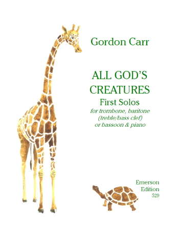 ALL GOD'S CREATURES First Solos (treble/bass clef)