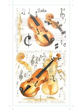 POCKET NOTEPAD Violin