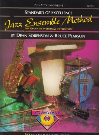STANDARD OF EXCELLENCE Jazz Ensemble Method + CD 2nd Alto Sax