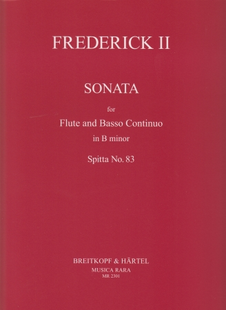 SONATA in B minor, Spitta No.83