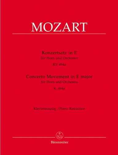 CONCERTO MOVEMENT K.494A