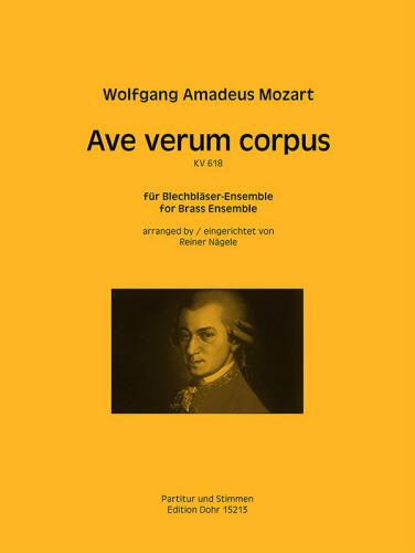 AVE VERUM CORPUS KV.618 (score & parts)