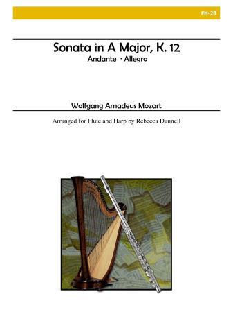 SONATA in A major, K. 12
