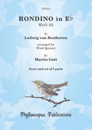 RONDINO in Eb major WoO25 (score & parts)