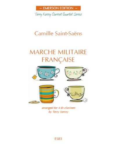 MARCHE MILITAIRE FRANCAISE score & parts