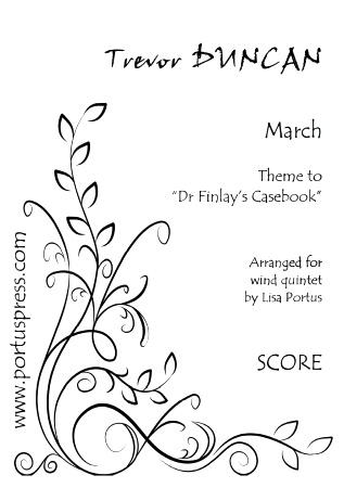 MARCH (score & parts)