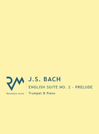 ENGLISH SUITE No.2 in A minor: 1. Prelude