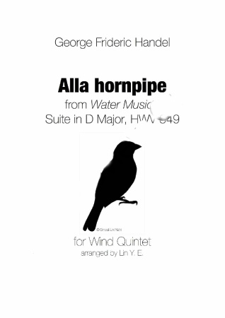 ALLA HORNPIPE from Water Music Suite (score & parts)