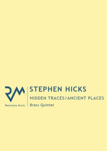 HIDDEN TRACES - ANCIENT PLACES (score & parts)