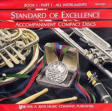STANDARD OF EXCELLENCE CD Book 1/1 for all instruments