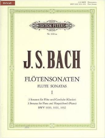 SIX SONATAS Volume 1 BWV 1030-1032 (Urtext)