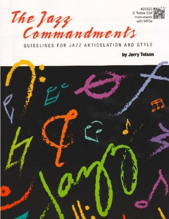THE JAZZ COMMANDMENTS C Edition (treble clef)