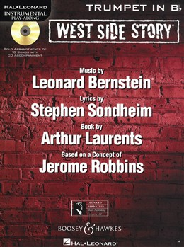 WEST SIDE STORY Instrumental Play-Along + CD