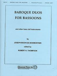 BAROQUE DUOS FOR BASSOONS