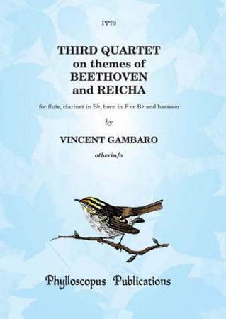 SECOND QUARTET on Themes of Beethoven and Reicha