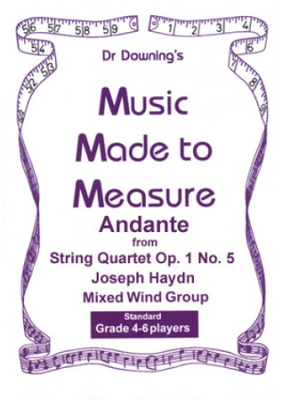 ANDANTE from String Quartet Op.1/5