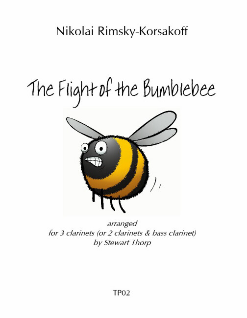 THE FLIGHT OF THE BUMBLEBEE score & parts