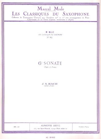 SONATA No.6 in E