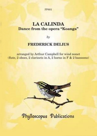 LA CALINDA (score & parts)