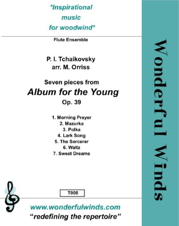 ALBUM FOR THE YOUNG Op.39 (score & parts)
