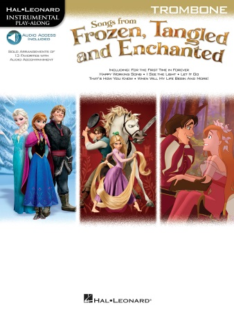 FROZEN, TANGLED & ENCHANTED Songs + Online Audio