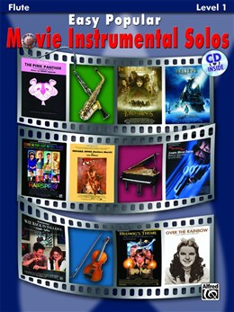 EASY POPULAR MOVIE INSTRUMENTAL SOLOS + CD