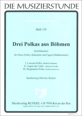 THREE BOHEMIAN POLKAS (score & parts)