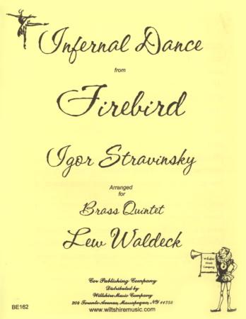 INFERNAL DANCE (score & parts)