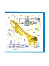 NOTELETS Trumpet Design (Pack of 5)