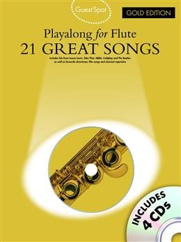 GUEST SPOT: 21 Great Songs Playalong + CDs