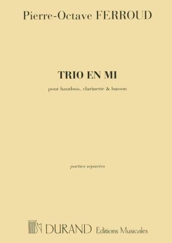 TRIO in E major (set of parts)
