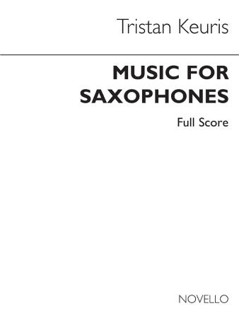 MUSIC FOR SAXOPHONES (score)